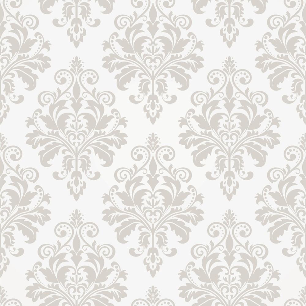 Papel de parede adesivo arabesco bege 16 eucolo - Papel autoadhesivo para paredes ...