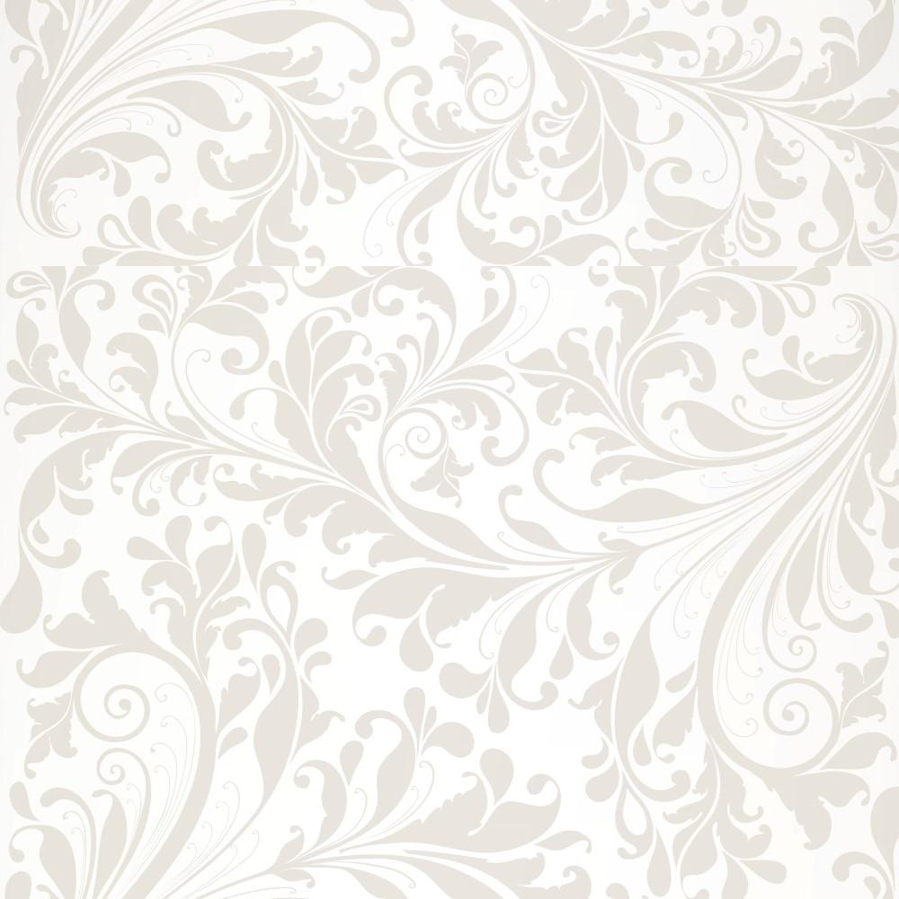 Armario Lulu Tienda Line ~ Papel de Parede Adesivo Arabesco Ornamentos Bege e Branco EuColo
