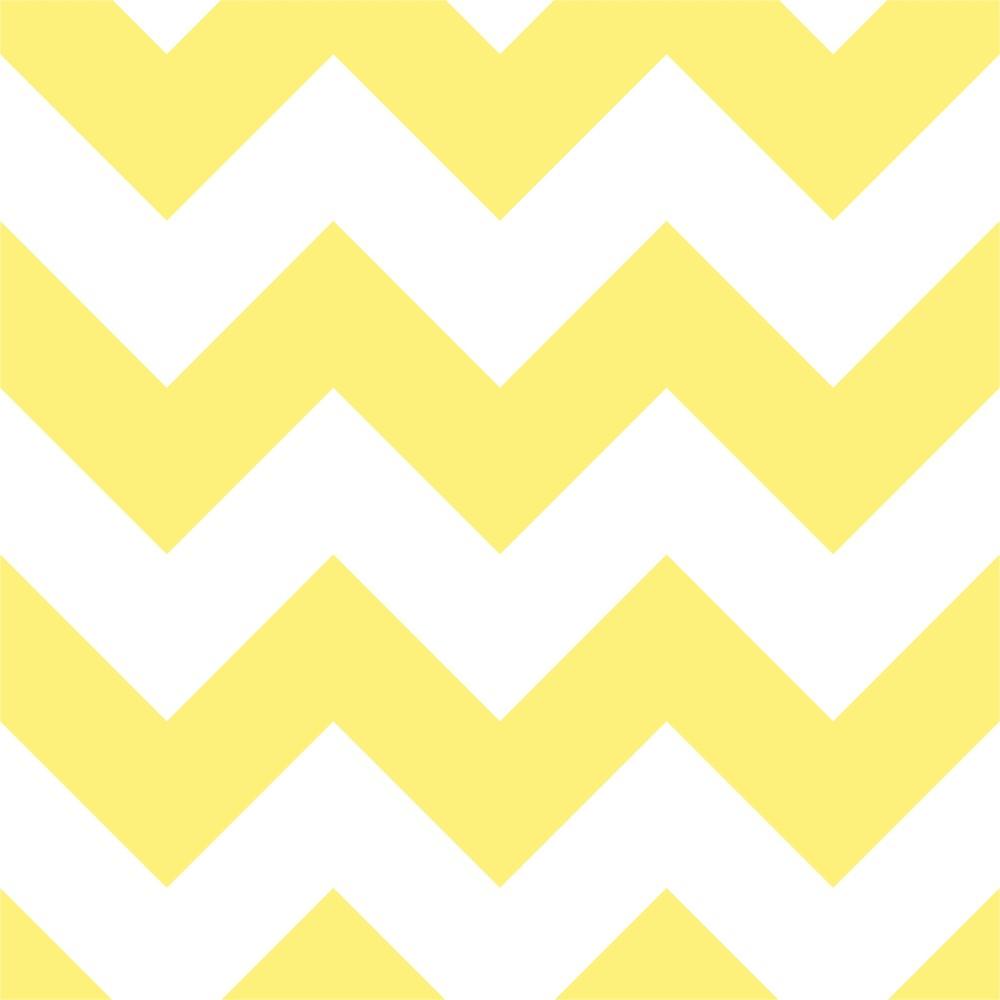 Armario Aberto Banheiro ~ Papel de Parede Adesivo Chevron Amarelo e Branco Eu