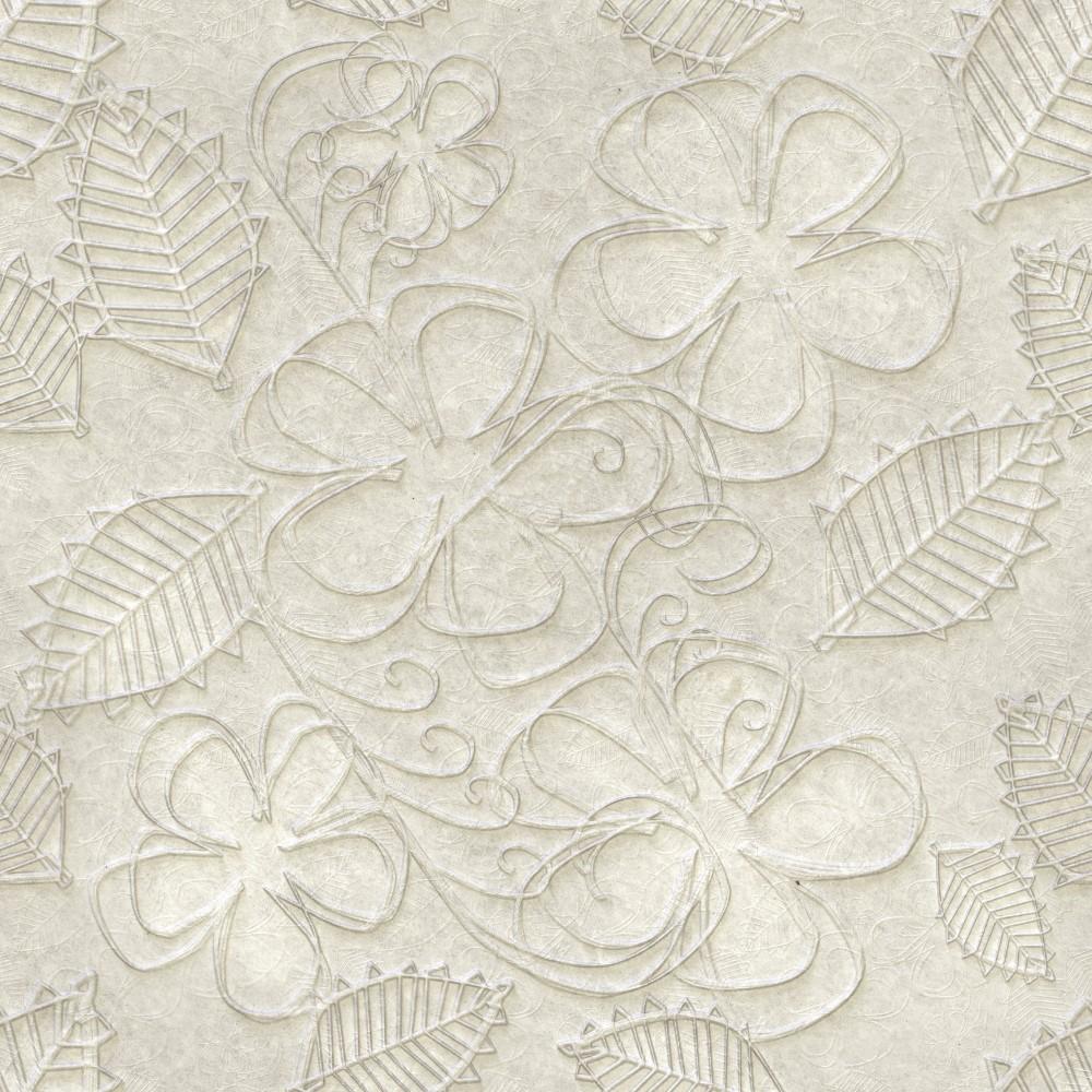Papel de parede adesivo flores contorno 3d eucolo for Papel pintado para paredes 3d