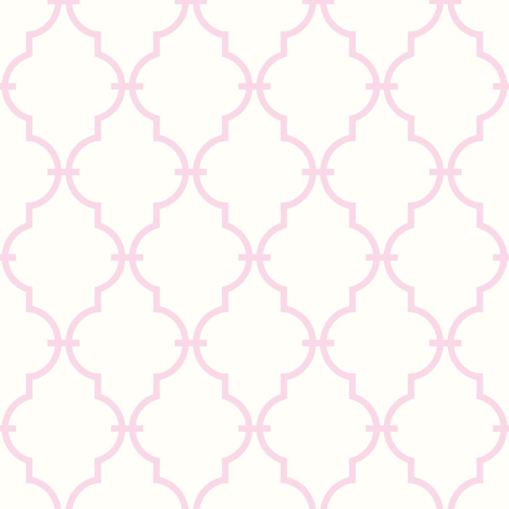 Papel de parede adesivo geom trico treli a rosa eucolo - Papel para revestir paredes ...