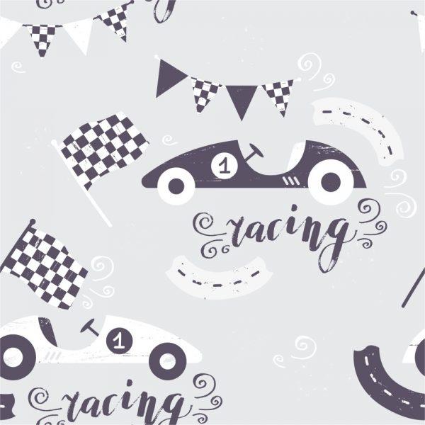 Papel de Parede Adesivo Infantil Racing