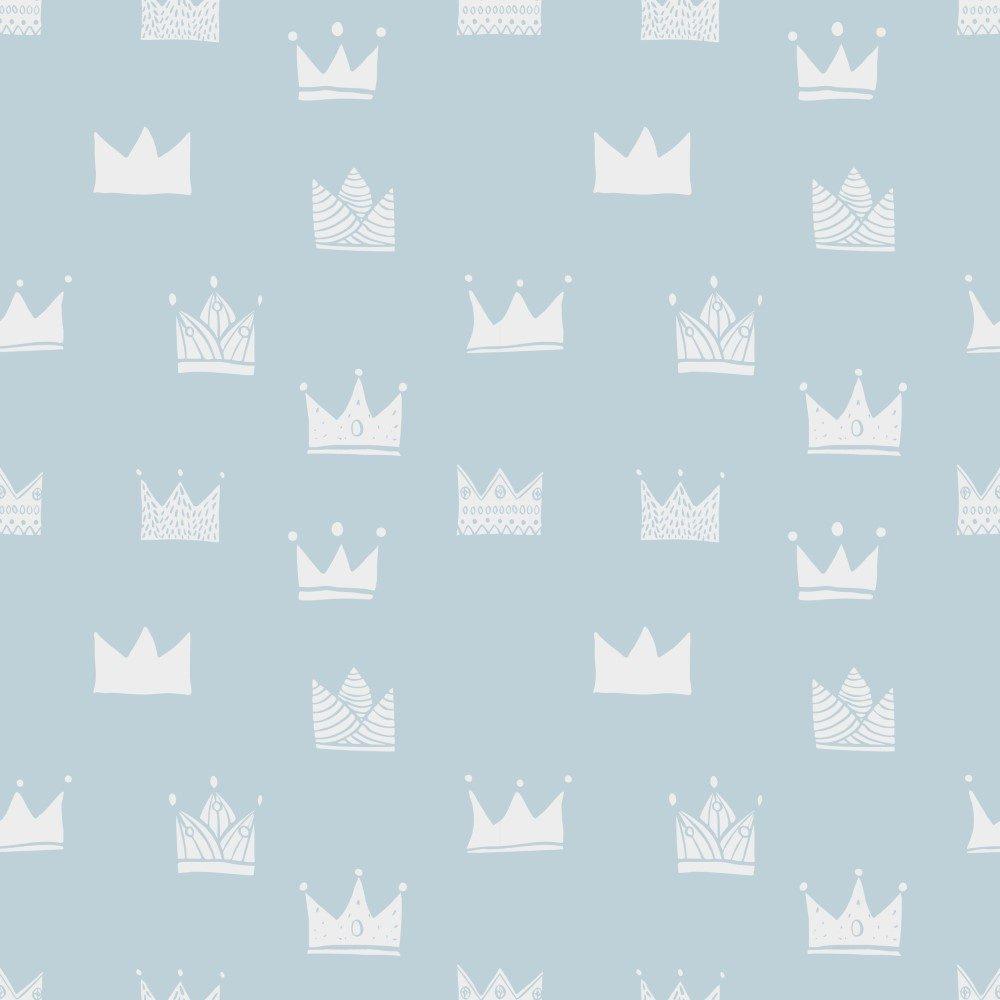 Papel de Parede Adesivo Infantil Coroas Diversas