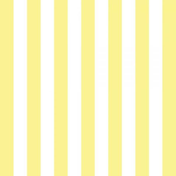 Papel de Parede Adesivo Listrado Amarelo e Branco