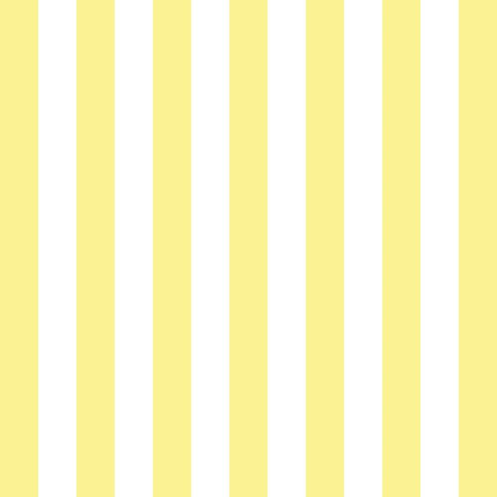 Aparador Branco Para Quarto De Bebe ~ Papel de Parede Adesivo Listrado Amarelo e Branco EuColo