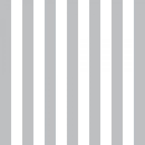 Papel de Parede Adesivo Listrado Cinza e Branco