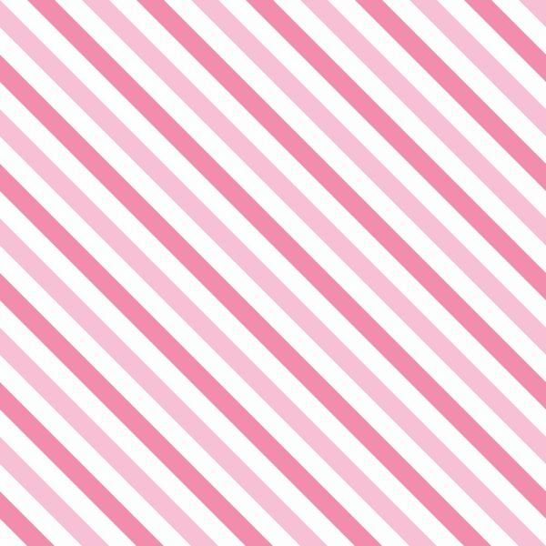 Papel de Parede Adesivo Listrado Rosa Diagonal