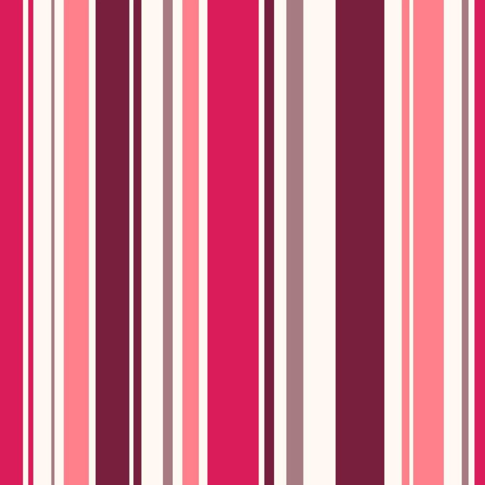 Papel de parede adesivo listrado rosa variado eucolo - Papel de pared de rayas ...