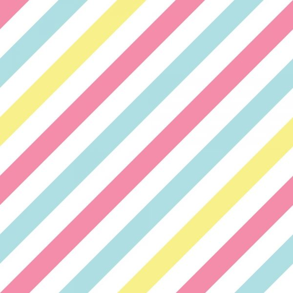 Papel de Parede Adesivo Listrado Tons Pasteis DiagonalPapel de Parede Adesivo Listrado Tons Pasteis Diagonal