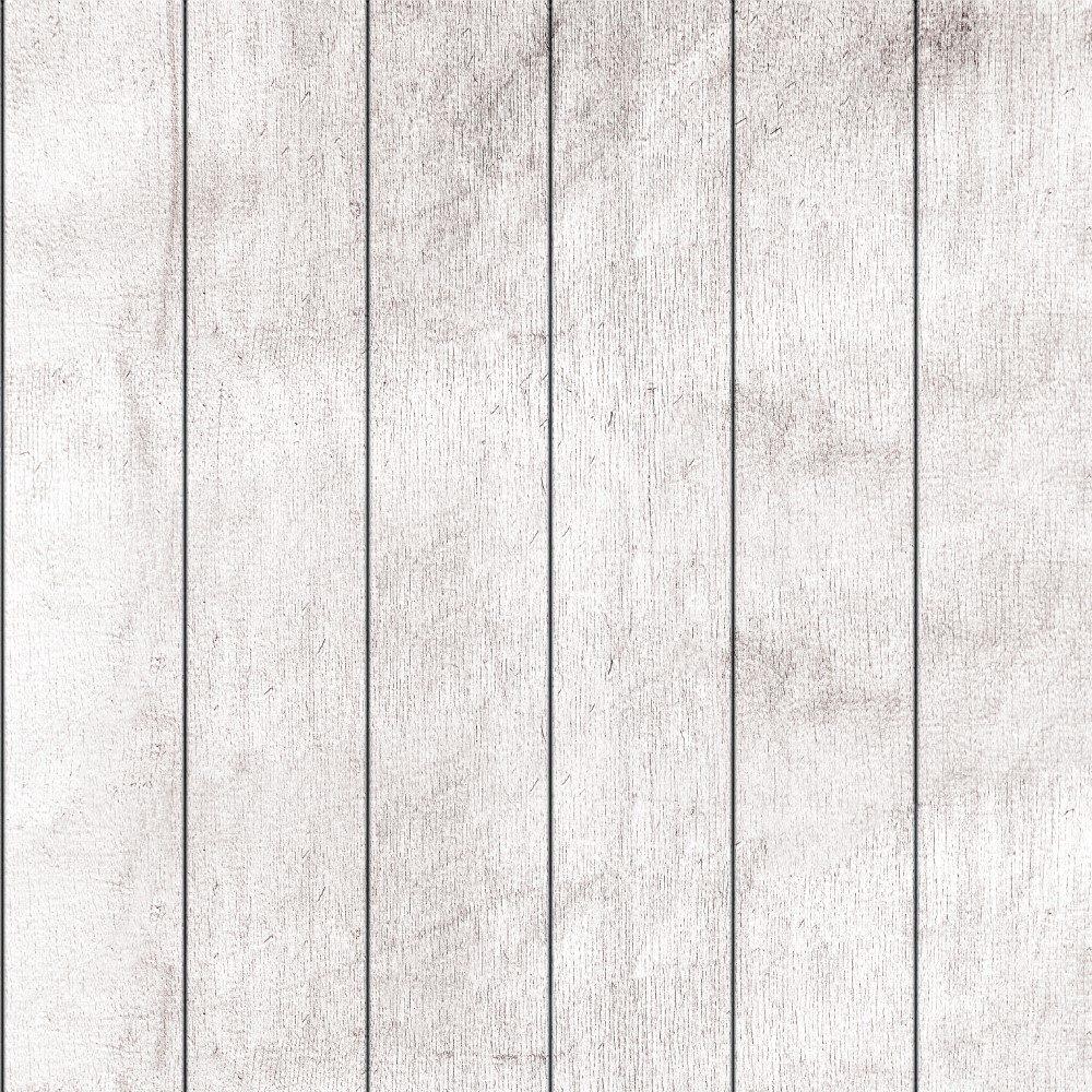 Papel de Parede Adesivo Madeira Branca Vertical