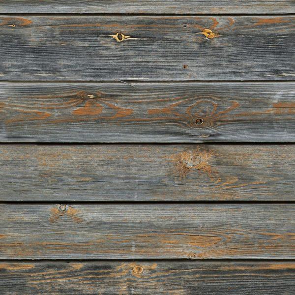 Papel de Parede Adesivo Madeira Rústica Cinza Escuro