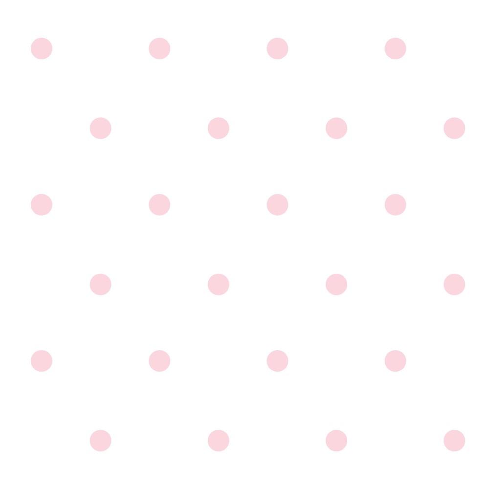 Aparador Gris Decapado ~ Papel de Parede Adesivo Poás Bolinhas Rosa com Fundo Branco Eu