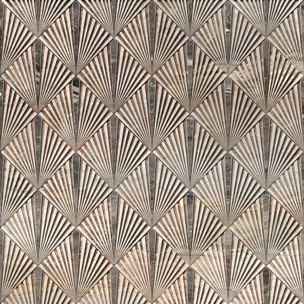 Papel De Parede Adesivo Retro Textura Chumbo Eucolo