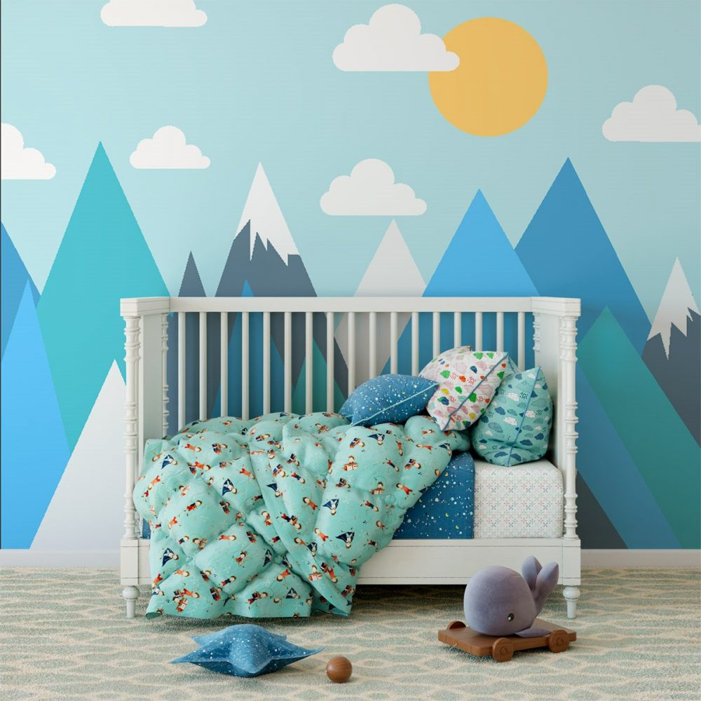 Painel Fotográfico Infantil Montanhas