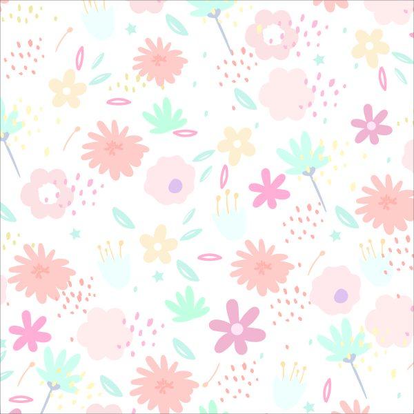 Painel Fotográfico Flores Divertidas