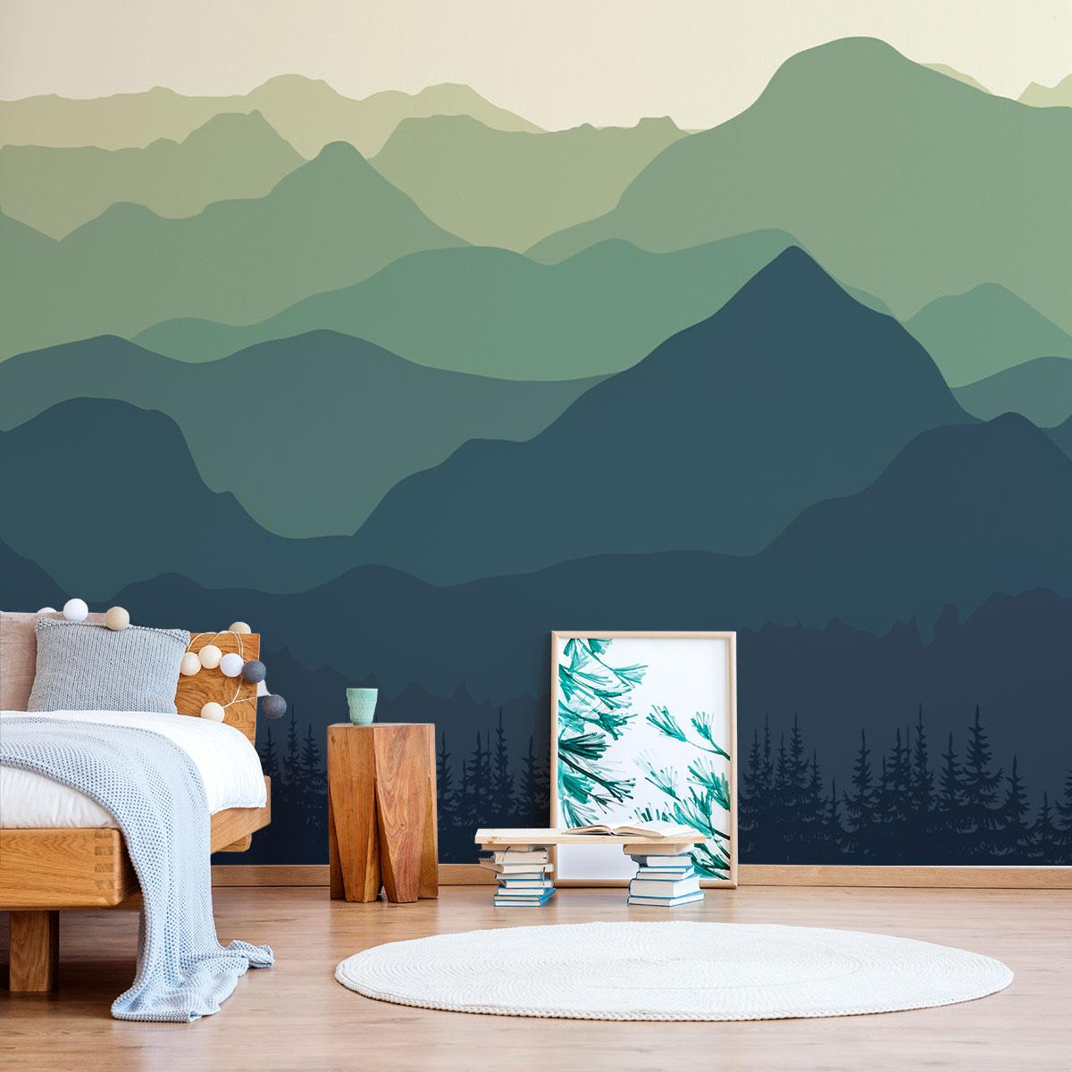 Painel Fotográfico Montanhas